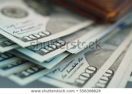 кошелька долларов гнезда яйцо деньги Сток-фото © Klinker