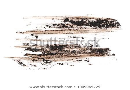 Fehér sár full frame absztrakt természet kosz Stock fotó © prill