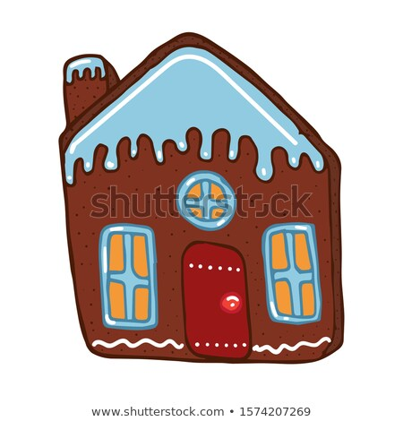 Building Architectural Wall Decal Vector Illustration Stock photo © rizwanali3d
