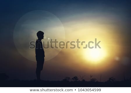 out of the dark, into the light Stock photo © PetrMalyshev