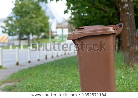 brown bin for recycle stock photo © adrenalina