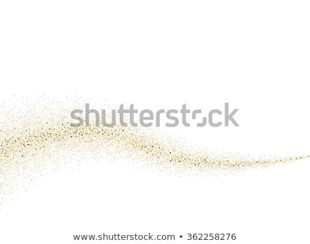 金 · 星 · ほこり · ベクトル - ストックフォト © gladiolus