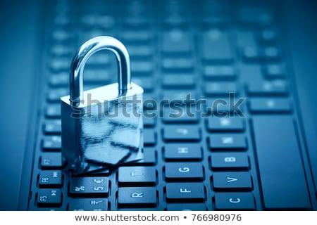 Privacy immagine testo internet design Foto d'archivio © magann