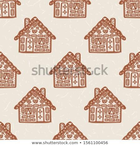 sem · costura · natal · bolinhos · decorado · bolinhos - foto stock © gigi_linquiet