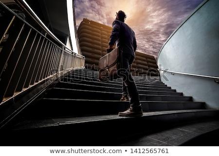 Man ready for climbing Stock photo © zurijeta