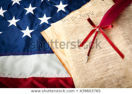 Estados Unidos declaración martillo EUA bandera Foto stock © dzejmsdin