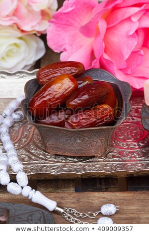 Stockfoto: Date Fruit With Rosemary
