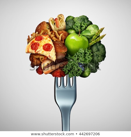 Food Health Options Concept Stock photo © Lightsource