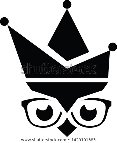 owl with joker hat Stock photo © adrenalina