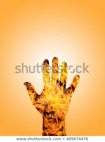 left hand of man on fire filter stock photo © bank215