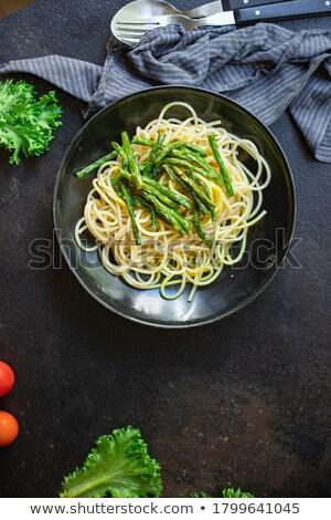 Spaghetti parmigiano alimentare sfondo formaggio pasto Foto d'archivio © M-studio