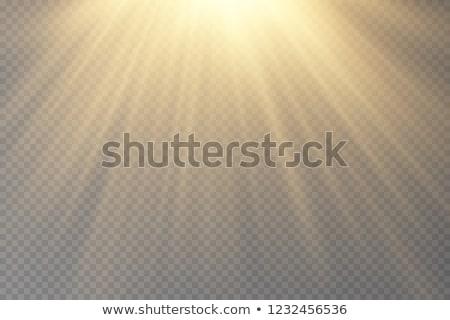 Céleste soleil lumière du soleil nuages nuage sombre Photo stock © ca2hill