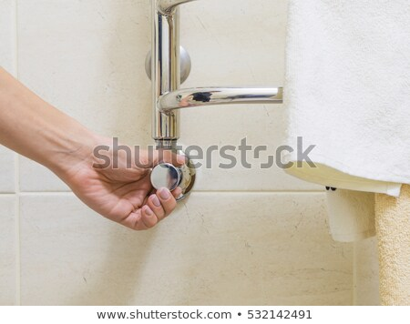 temperature regulator for towel rail Stock photo © ssuaphoto