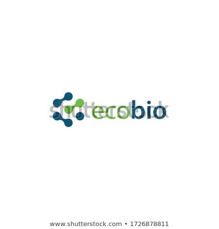 Corpo design de logotipo eps trabalhar azul pergunta Foto stock © sdCrea