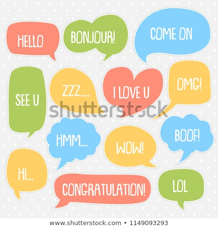 Burbujeante cumpleanos ilustración feliz cumpleaños burbuja fuente Foto stock © get4net