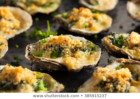 baked oyster Stock photo © M-studio