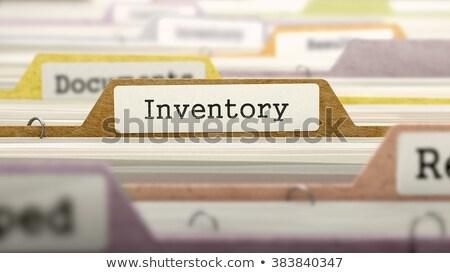 catálogo · documento · ver - foto stock © tashatuvango