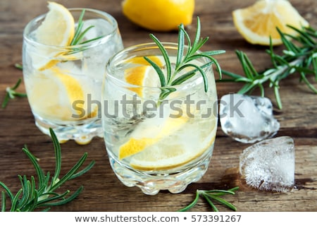 Iszik limonádé koktél férfi szakáll üveg Stock fotó © frimufilms