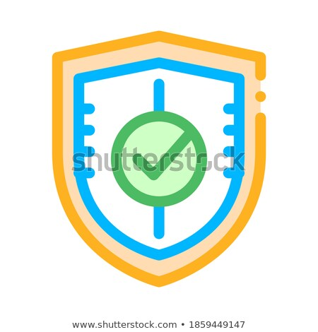 Stock photo: Confirmed Concept on File Label.