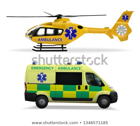 Foto d'archivio: Doctor Of Air Ambulance Vector Illustration