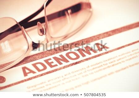 diagnoza · bezpłodność · medycznych · 3d · sprawozdanie · czerwony - zdjęcia stock © tashatuvango