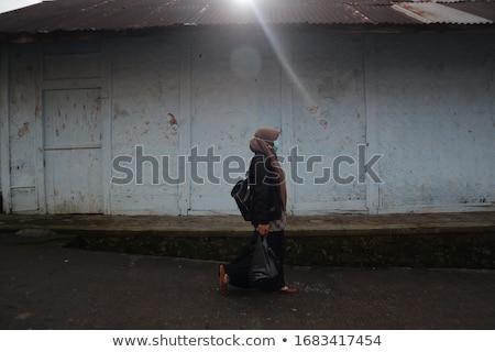 Urban vigilant woman Stock photo © adrenalina