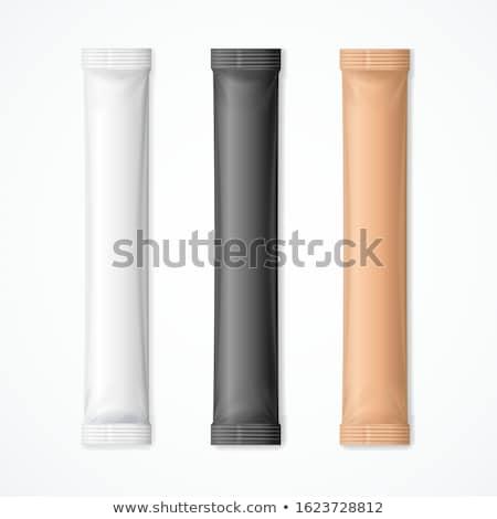 Stock fotó: Fehér · barnacukor · csésze · fa · asztal · textúra · eszik