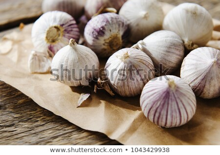 aromatic garlic small group Stock photo © ssuaphoto