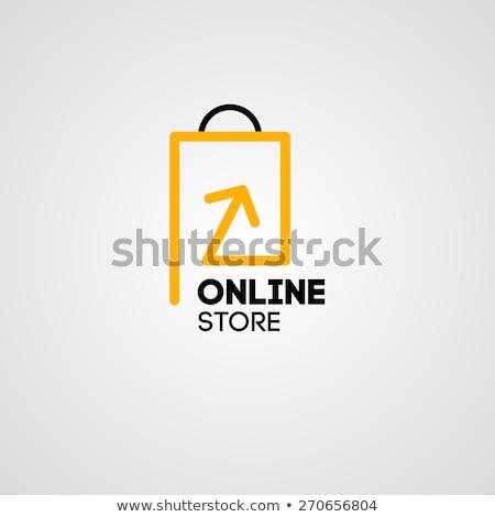 Vector compras logo plantilla conceptos ideas Foto stock © butenkow