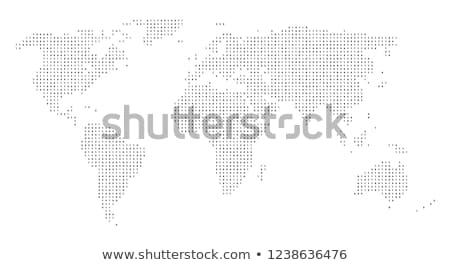 Digital Coding on World Map Stock photo © alexaldo