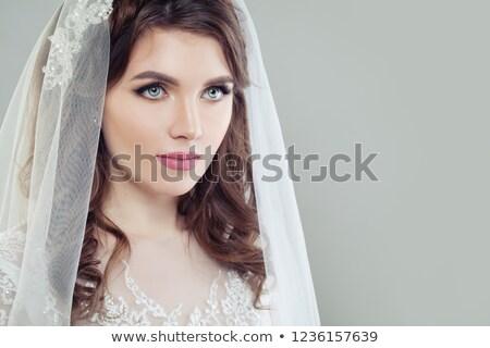 perfect · bruid · portret · mooie · naar · camera - stockfoto © pressmaster