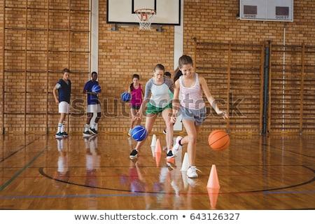 高校 子供 サッカー ドリル 裁判所 ストックフォト © wavebreak_media