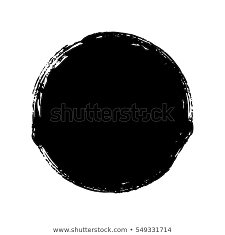 vector brush strokes circles grunge backgrounds stock photo © freesoulproduction