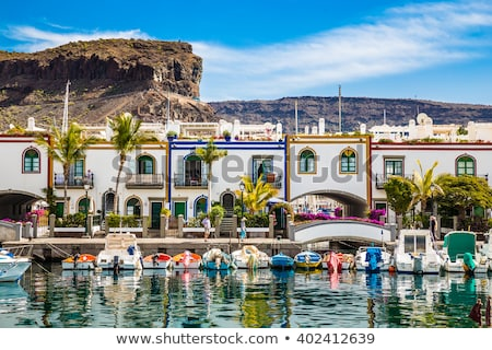 Puerto de Mogan at Gran Canaria, Spain Stock photo © boggy