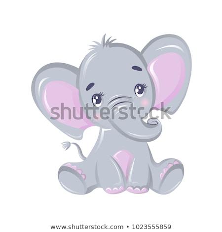 Cartoon Proboscis Safari Stock photo © cthoman