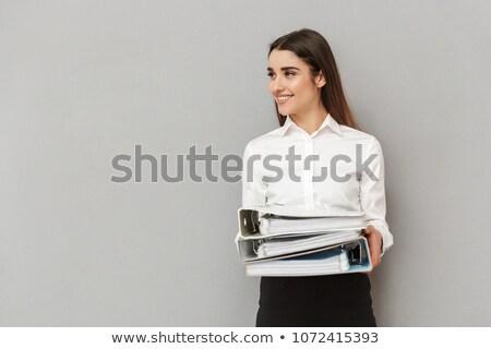 Fotó hivatalos visel néz copy space tart Stock fotó © deandrobot