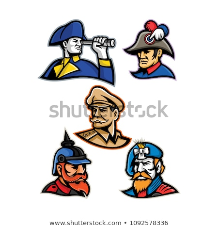 Generals, Admirals and Emperor Mascot Collection Stock photo © patrimonio