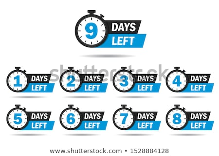 number of days left sign for sale and promotion Stock photo © SArts