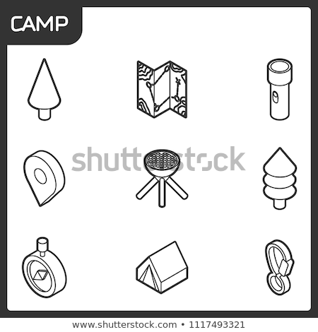 web · design · schets · isometrische · iconen · logo-ontwerp · vector - stockfoto © netkov1