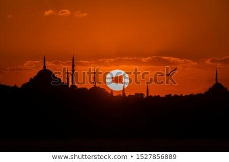mecset · Isztambul · Törökország · megvilágosodás · egyezség · ramadán - stock fotó © artjazz