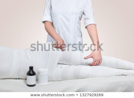 тело красоту процедура уход за кожей вектора Сток-фото © robuart