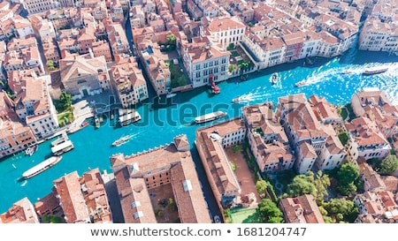 View Of The Lagoon Canals And Houses Stock photo © AndreyPopov