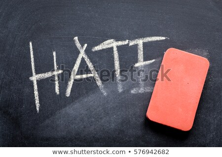 Overcome Hate Concept Stock photo © Lightsource