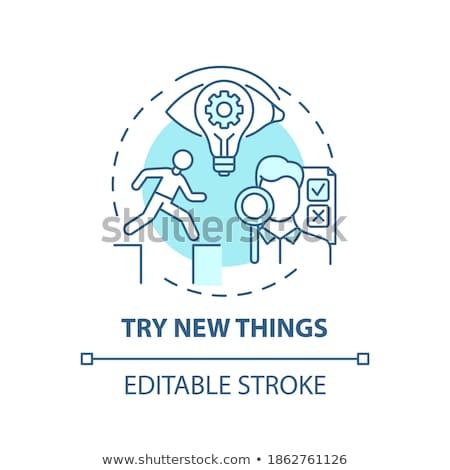 Tips creatieve ideeën vector metafoor business Stockfoto © RAStudio