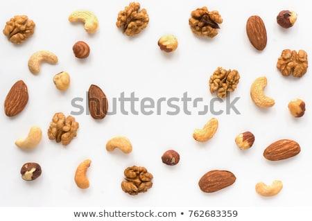 セット 白 食品 自然 グループ デザート ストックフォト © Alkestida