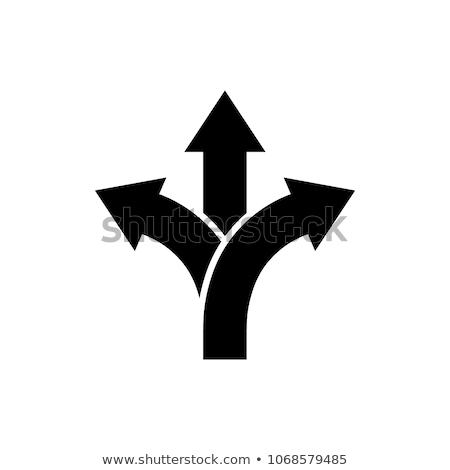 Arrow Split Choice icon, vector illustration for web mobile application. Stock Vector illustration i Stock photo © kyryloff