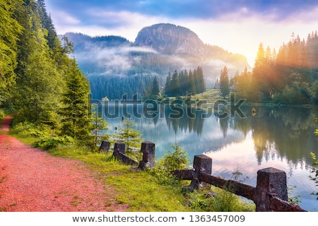 Red lake,Romania Stock photo © RazvanPhotography