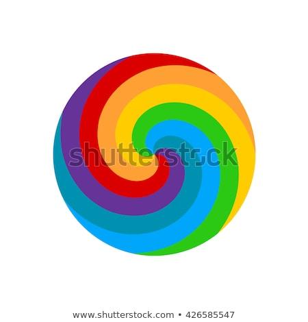 Rainbow Twirl Stock photo © ArenaCreative