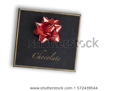 окна изолированный белый продовольствие дизайна шоколадом Сток-фото © digitalstorm