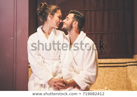Couple in their room Stock photo © photography33